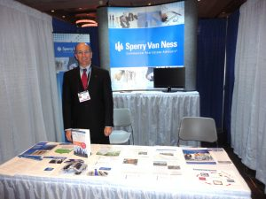 George Slusser, SVNIC's Chief Growth Officer, at the ICSC New York National Conference