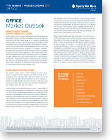 2015 Office Market Outlook