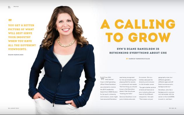 SVN's Diane Danielson Featured in REI INK Magazine