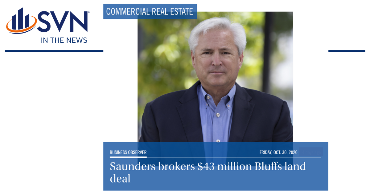 Saunders brokers $43 million Bluffs land deal